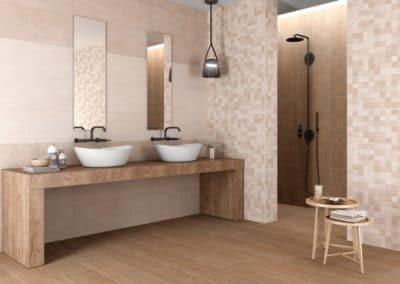 Carrelages pour la salle de bains et la douche italienne