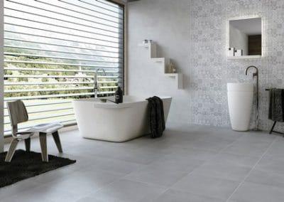 Carrelages pour le sol de salle de bains : esthétique et pratique
