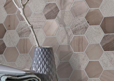 Carrelages hexagonaux pour la maison