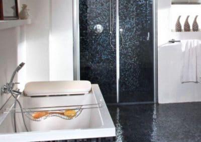 Carrelages mosaïques pour la salle de bains