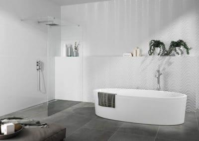 Carrelages pour la douche italienne